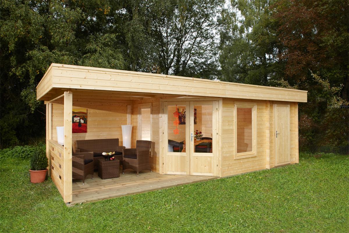 Gartenhaus Mit Eigener Terrasse Vom Gartenhaus Fachhandler