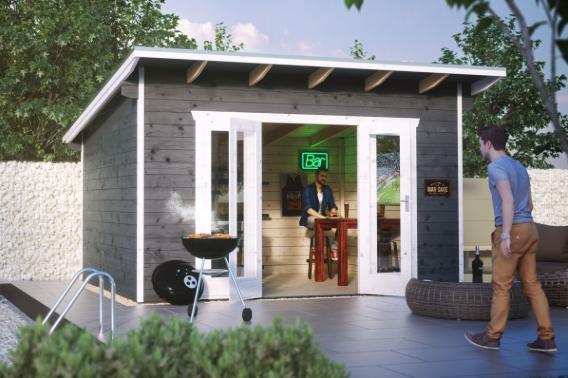 gartenhaus skanholz ostende flachdach gartenhaus fenster doppelt r vom gartenhaus fachh ndler. Black Bedroom Furniture Sets. Home Design Ideas