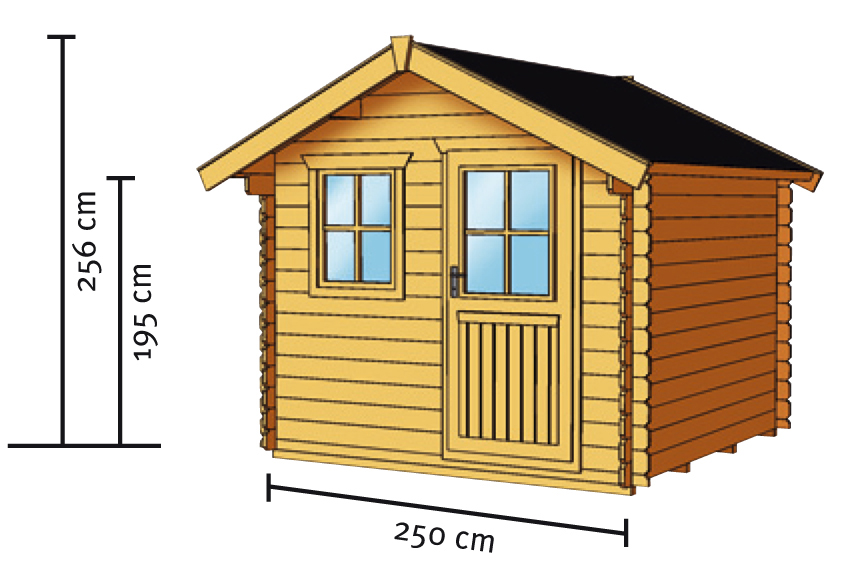 gartenhaus skanholz porto blockbohlen holzhaus mit fenster einzelt r kaufen im holz. Black Bedroom Furniture Sets. Home Design Ideas