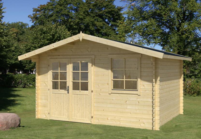 Doppeltür Holz gartenhaus wolff reims gartenhaus holz mit fenster doppeltür