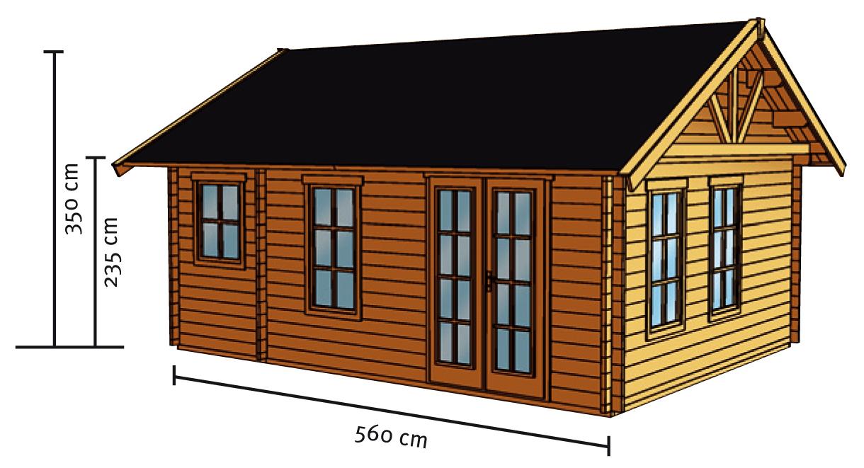 gartenhaus skanholz bern wochenendhaus holzhaus vom gartenhaus fachh ndler. Black Bedroom Furniture Sets. Home Design Ideas