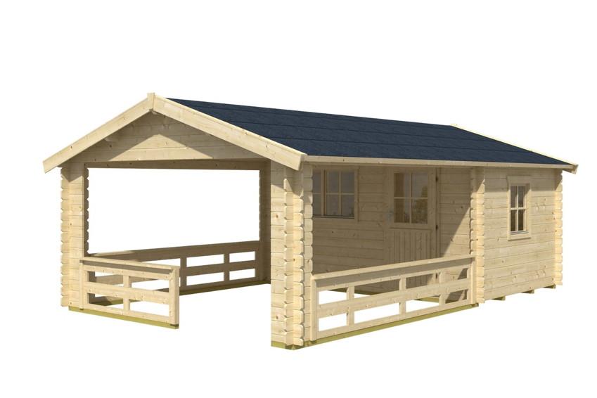 gartenhaus skanholz alicante terrassenhaus holzhaus mit fenster einzelt r kaufen im holz. Black Bedroom Furniture Sets. Home Design Ideas