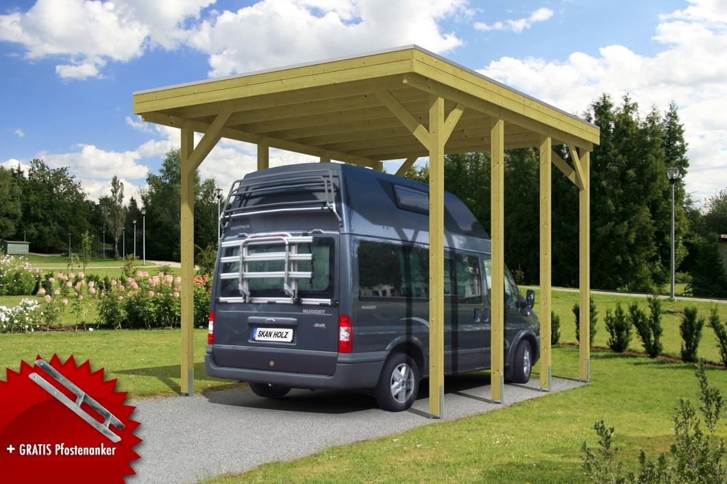 Alu Carport Bausatz. Good Alu Carport Bausatz Carport Aus Aluminium ...