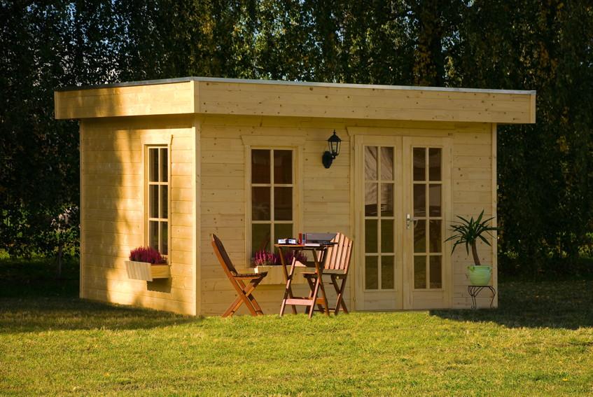 gartenhaus skanholz breda flachdach holzhaus mit fenster doppelt r kaufen im holz. Black Bedroom Furniture Sets. Home Design Ideas