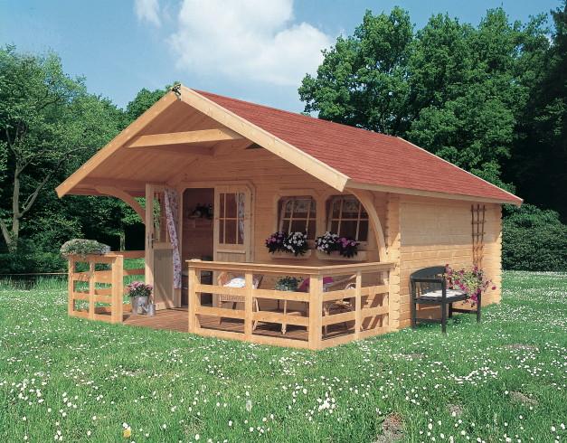 gartenhaus karibu doderic komplettpaket holzhaus. Black Bedroom Furniture Sets. Home Design Ideas