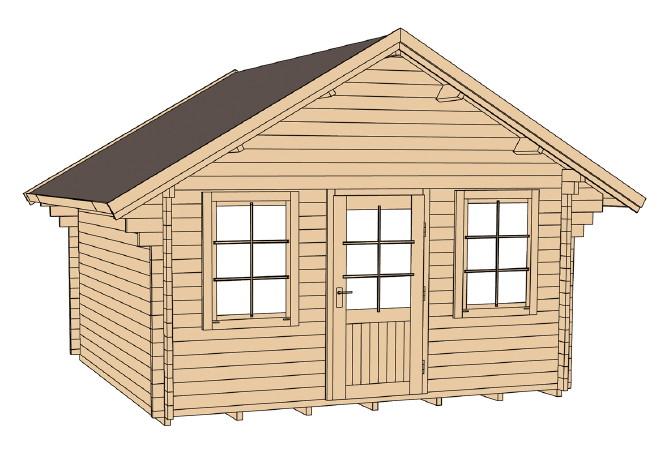 ferienhaus weka allg u wochenendhaus gartenhaus holz haus bausatz kaufen im holz. Black Bedroom Furniture Sets. Home Design Ideas
