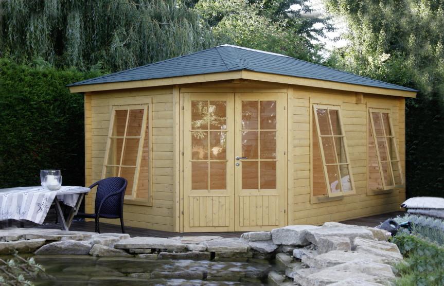 gartenhaus dachtypen kaufen im holz garten baumarkt online shop. Black Bedroom Furniture Sets. Home Design Ideas