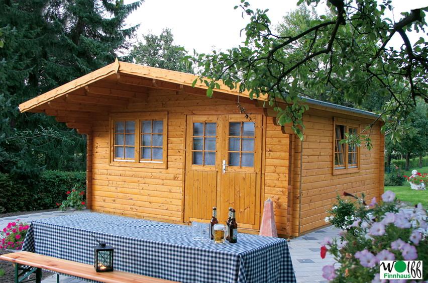 gartenhaus wolff nordkap 70 holz gartenhaus doppelfenster doppelt r kaufen im holz. Black Bedroom Furniture Sets. Home Design Ideas