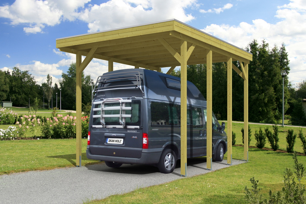 caravan carport bausatz skanholz friesland caravan carport aluminiumdach vom gartenhaus. Black Bedroom Furniture Sets. Home Design Ideas