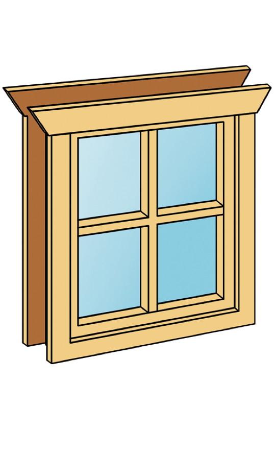 einbaufenster skanholz fenster h 70 5cm f r 45 mm vom. Black Bedroom Furniture Sets. Home Design Ideas