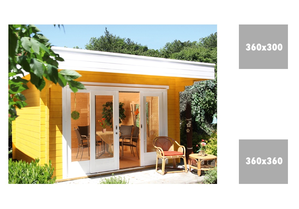 gartenhaus wolff sophie 44 mit gro er schiebet r. Black Bedroom Furniture Sets. Home Design Ideas