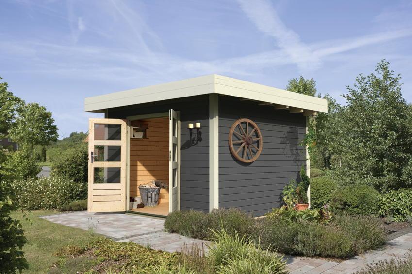 design 5001431 hubsches gartenhaus aus holz selber bauen. Black Bedroom Furniture Sets. Home Design Ideas