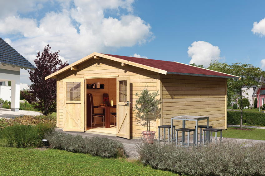 gartenhaus karibu kemborg gartenhaus holzhaus bausatz kaufen im holz garten baumarkt. Black Bedroom Furniture Sets. Home Design Ideas