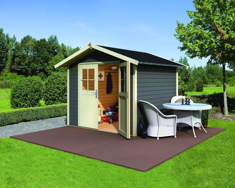 gartenhaus karibu ungersund usedom holz haus bausatz. Black Bedroom Furniture Sets. Home Design Ideas