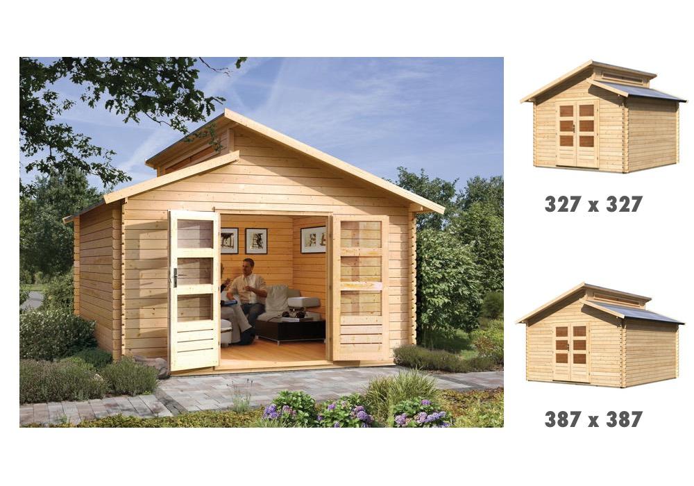 gartenhaus holz unterkonstruktion ~ innenarchitektur und möbelideen, Moderne