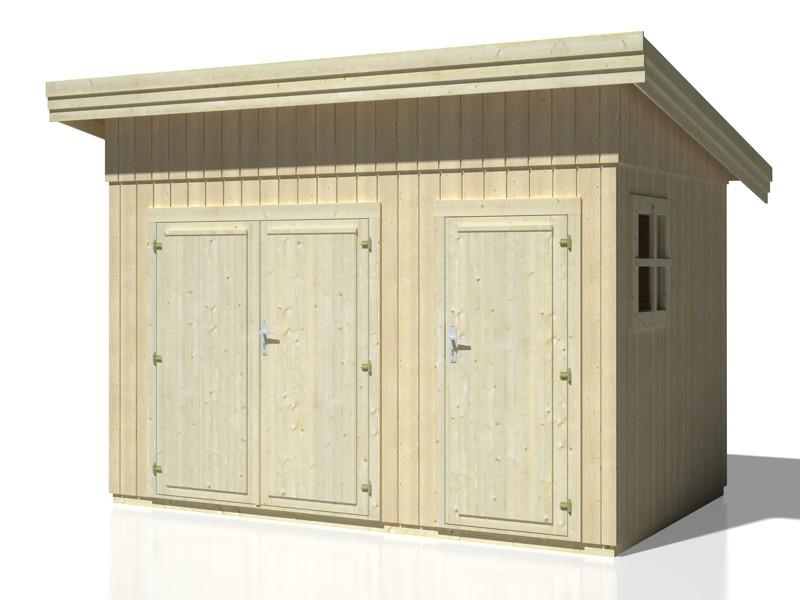 ger tehaus palmako frank 1 flachdach kaufen im holz. Black Bedroom Furniture Sets. Home Design Ideas