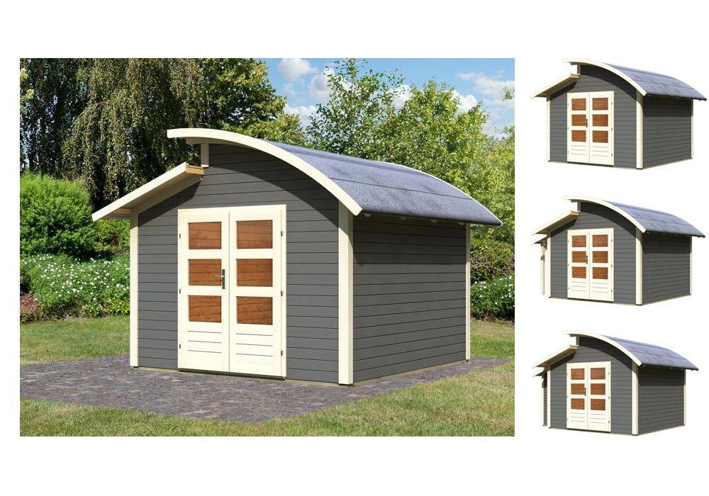 gartenhaus karibu almelo holz haus bausatz kaufen im. Black Bedroom Furniture Sets. Home Design Ideas