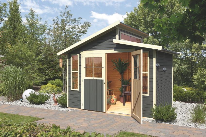 Gartenhaus Holz Endbehandelt ~ sandy gartenhaus stufendach karibu grafenau jpg