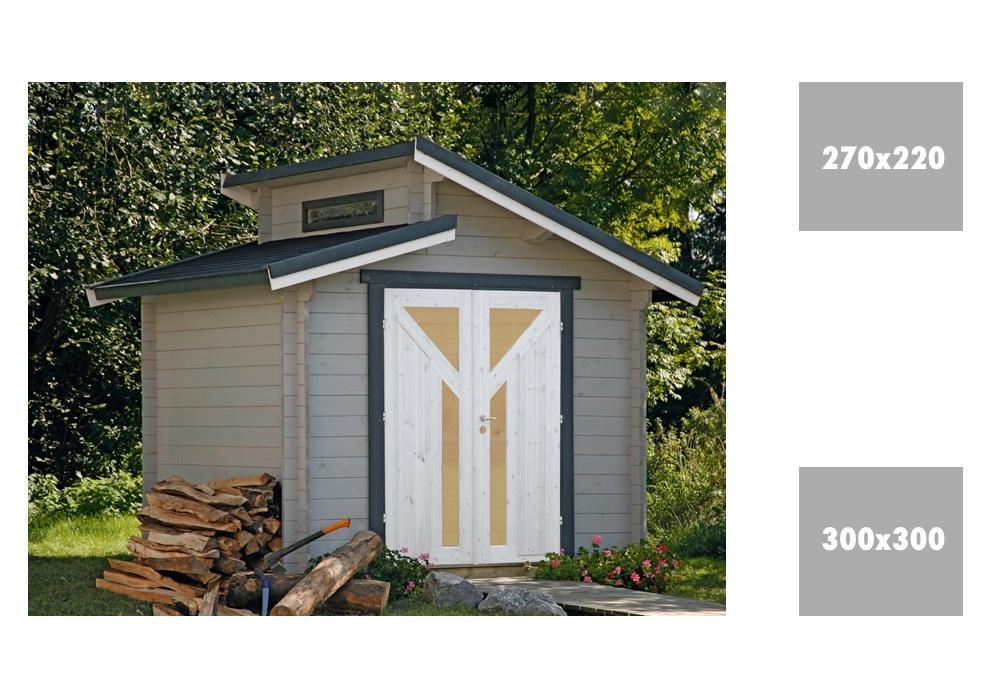 gartenhaus wolff bornholm 40 stufendachhaus holz haus bausatz kaufen im holz garten. Black Bedroom Furniture Sets. Home Design Ideas