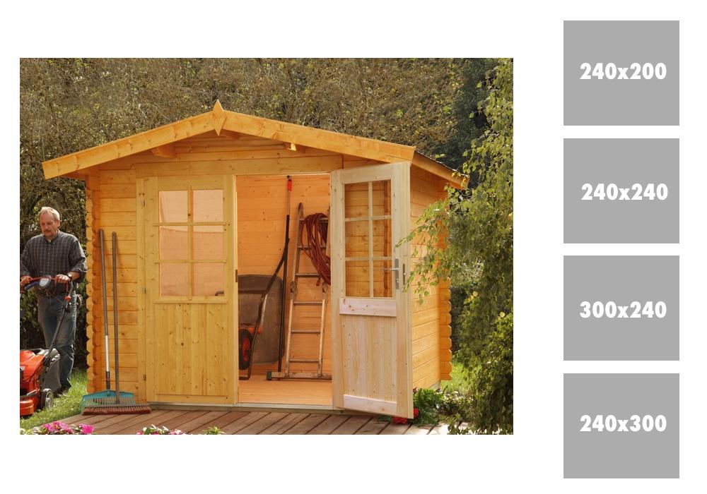 gartenhaus wolff bibertal 28 mit doppelt r holz gartenhaus kaufen im holz garten. Black Bedroom Furniture Sets. Home Design Ideas