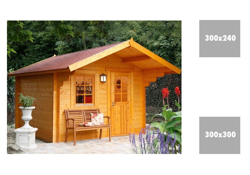 gartenhaus wolff monika 34 holz gartenhaus mit fenster. Black Bedroom Furniture Sets. Home Design Ideas