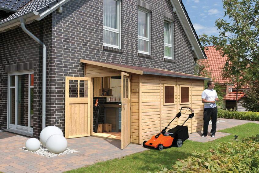 Gartenhaus Holz Mit Anbau Cool Mobel Und Dekoration Ideen Pretty