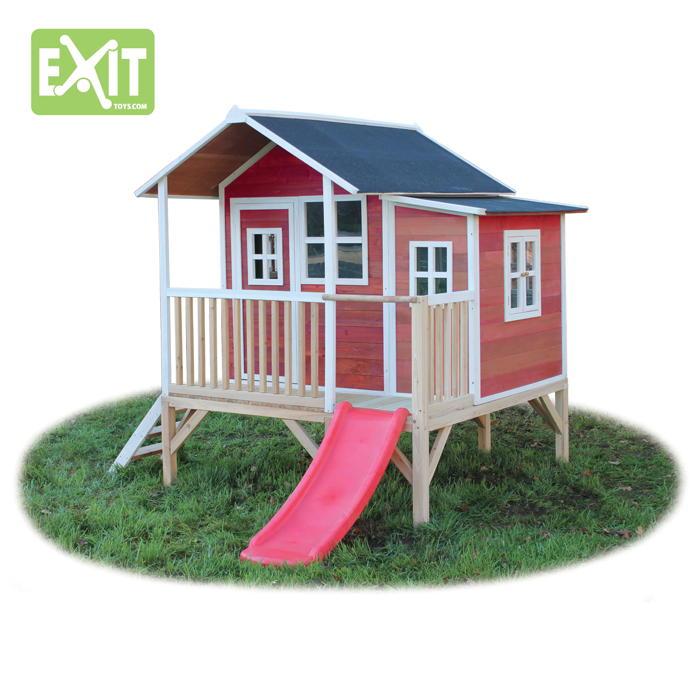 Holz Kinder Spielhaus Flaches Stelzen Kinderspielhaus Stelzenhaus