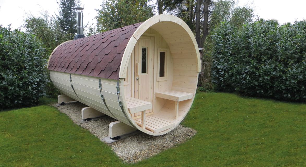 gartensauna wolff saunafass 400 sauna haus aussensauna fasssauna aus holz kaufen im holz. Black Bedroom Furniture Sets. Home Design Ideas