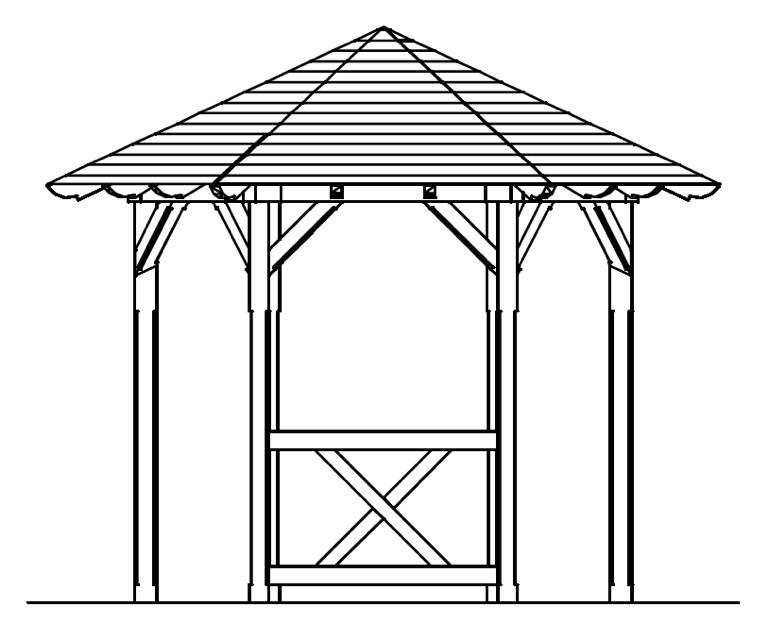 skanholz br stung pavillon colmar andreaskreuz halbhohes. Black Bedroom Furniture Sets. Home Design Ideas