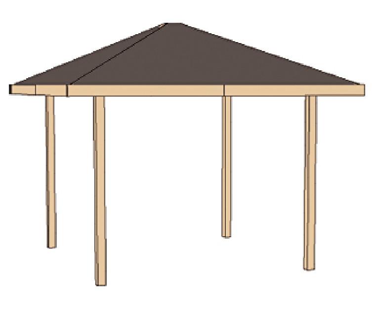 pavillon weka paradies klein quadratisch 4 eck holz pavillon kaufen im holz garten. Black Bedroom Furniture Sets. Home Design Ideas
