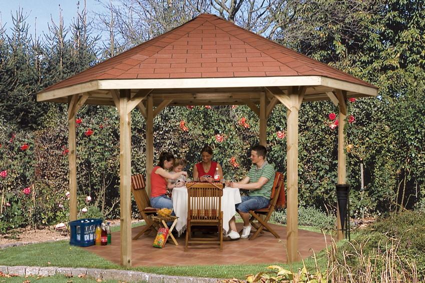Pavillon Garten Holz ist perfekt stil für ihr haus ideen