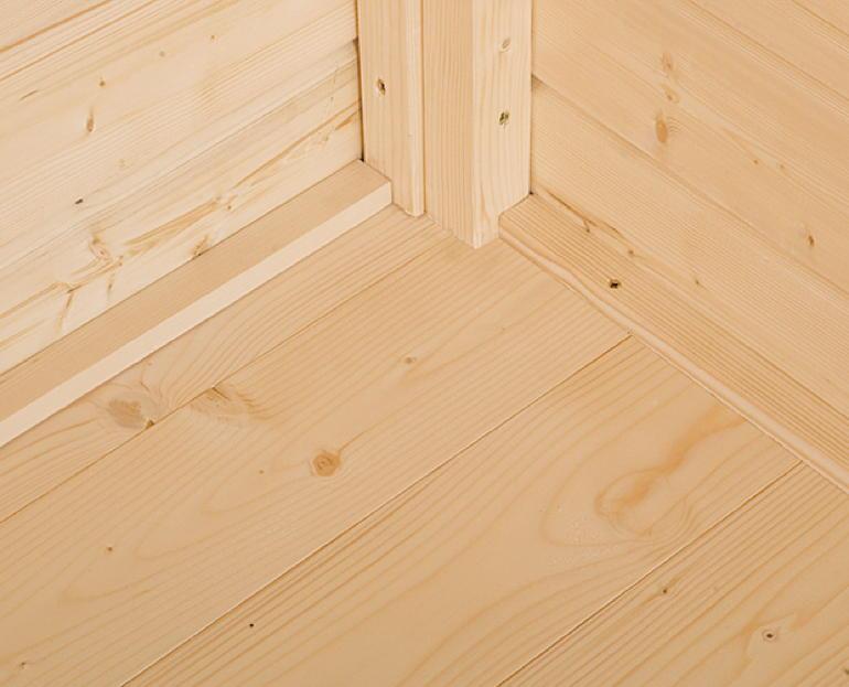 Holzfußboden Gartenhaus ~ Fußboden im gartenhaus ist ein muss gartenhaus zubehör