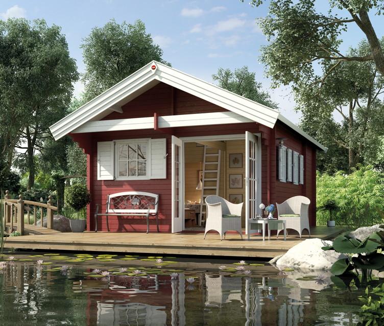 Gartenhaus Topseller :: Satteldach Blockbohlen Gartenhäuser Sind Die  Beliebtesten Gartenhaustypen :