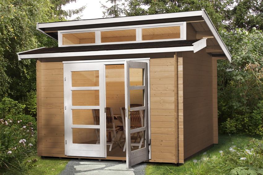 gartenhaus weka gartenhaus 158 holz haus bausatz. Black Bedroom Furniture Sets. Home Design Ideas