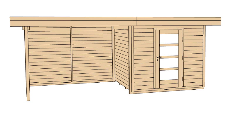 gartenhaus mit holzunterstand arkansasgreenguide. Black Bedroom Furniture Sets. Home Design Ideas