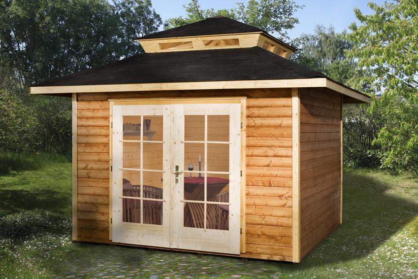 gartenhaus weka gartenhaus 177 holz haus bausatz. Black Bedroom Furniture Sets. Home Design Ideas