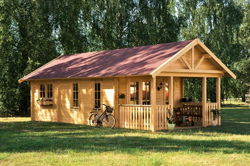 gartenhaus skanholz toronto 45mm wochenendhaus holzhaus in 3 gr en kaufen im holz. Black Bedroom Furniture Sets. Home Design Ideas
