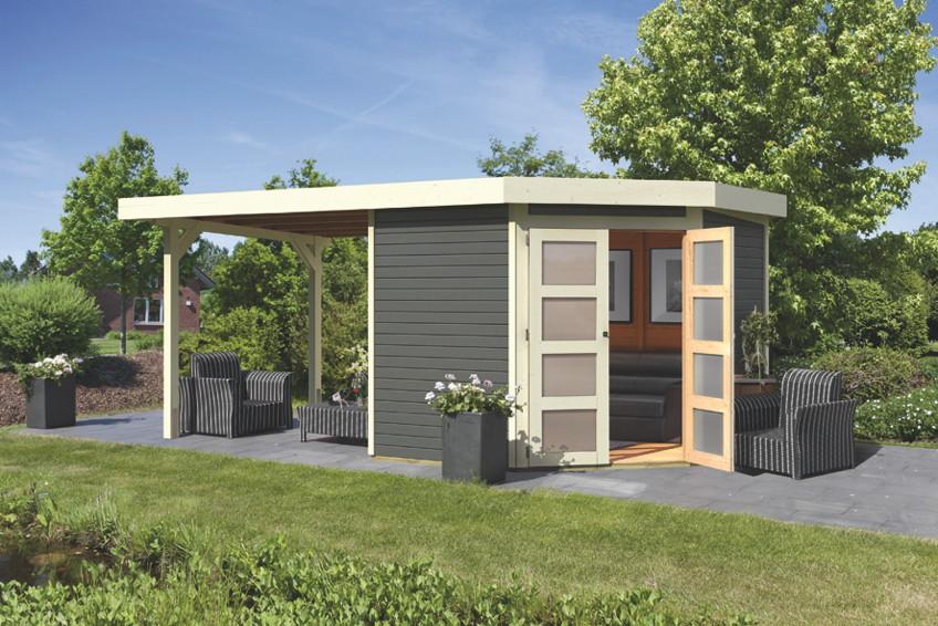 gartenhaus holz endbehandelt. Black Bedroom Furniture Sets. Home Design Ideas