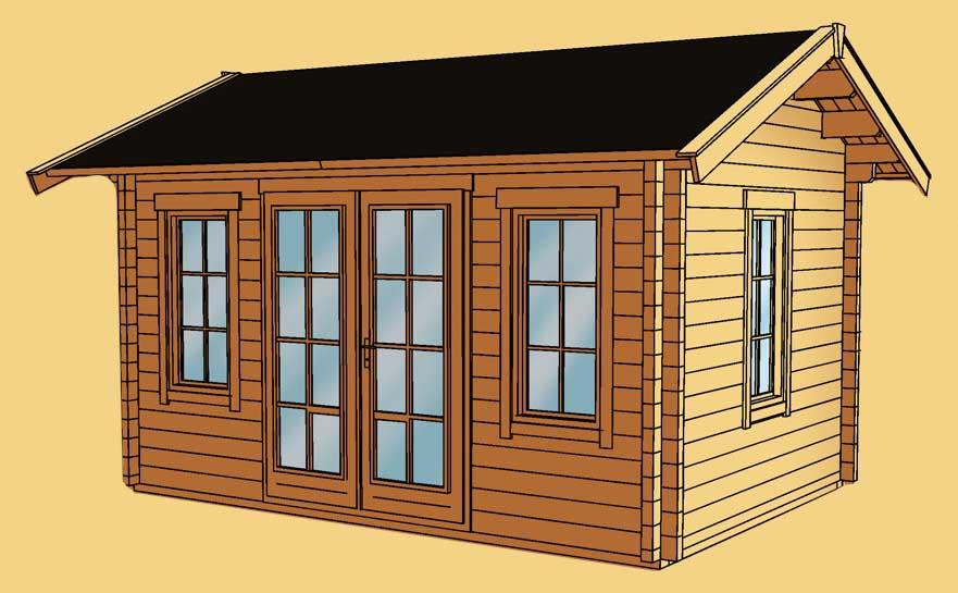 gartenhaus skanholz montreal blockbohlen holzhaus fenster doppelt r vom gartenhaus fachh ndler. Black Bedroom Furniture Sets. Home Design Ideas