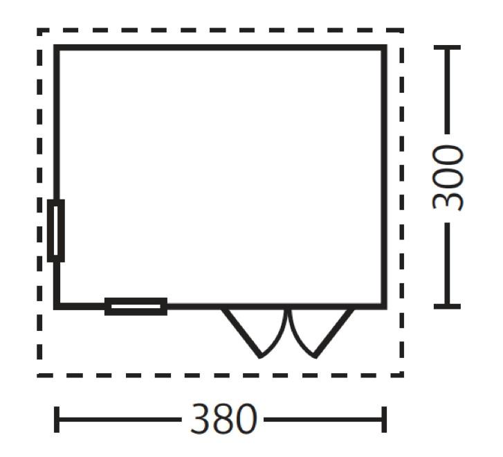 gartenhaus skanholz breda flachdach holzhaus mit fenster doppelt r vom gartenhaus fachh ndler. Black Bedroom Furniture Sets. Home Design Ideas