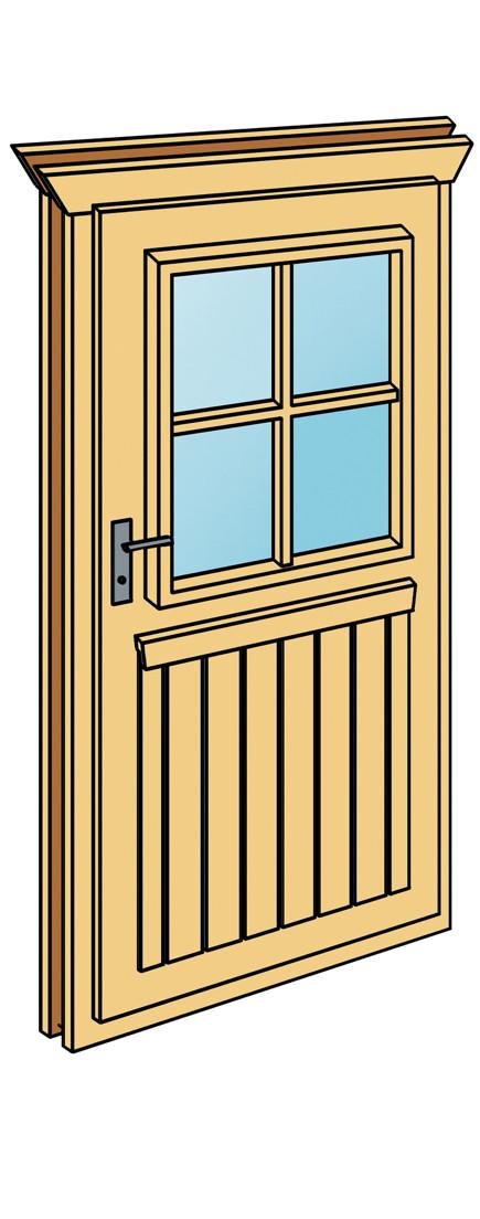 Wohnzimmer und Kamin holztür gartenhaus : Einbautu00fcr SKANHOLZ u00abGartenhaustu00fcr fu00fcr 28 mmu00bb mit Sprossen ...