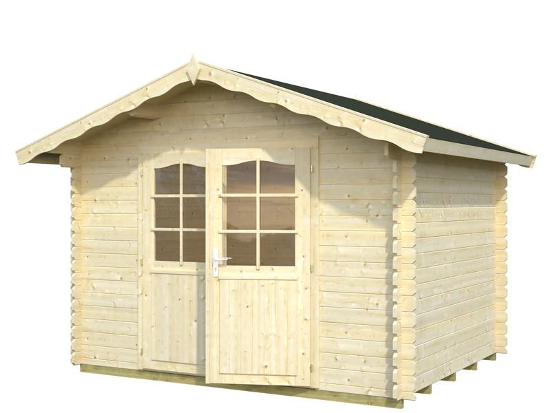 gartenhaus palmako magnus ger tehaus kaufen im holz. Black Bedroom Furniture Sets. Home Design Ideas
