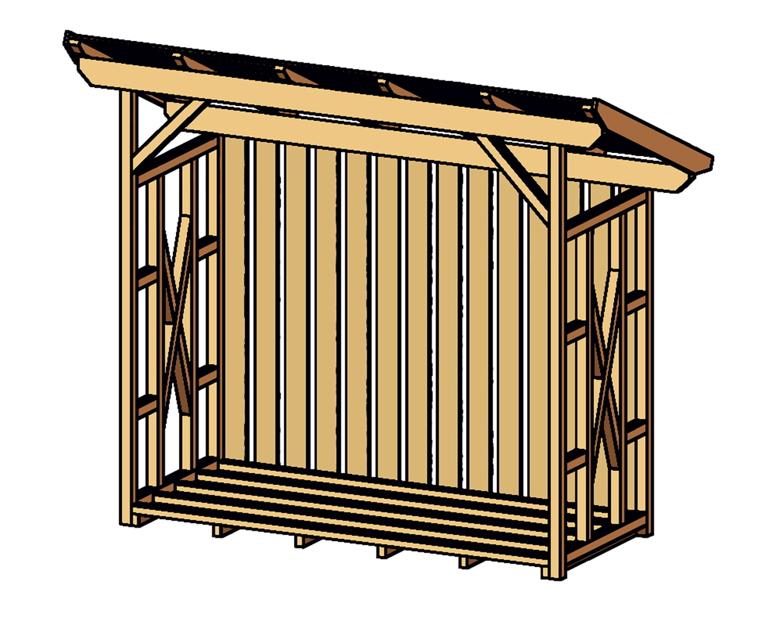 holz lagerplatz skanholz lars holzunterstand kaufen im holz garten baumarkt online shop. Black Bedroom Furniture Sets. Home Design Ideas