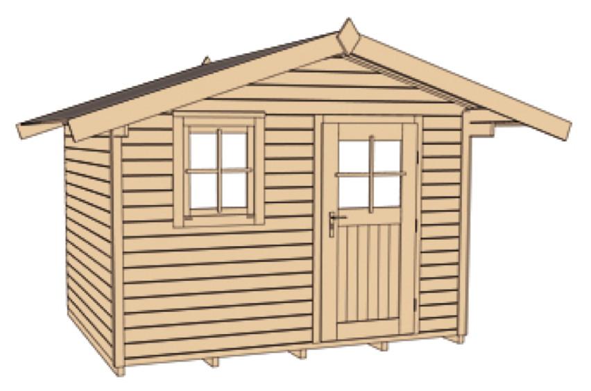 holzhaus selber bauen anleitung holzhaus bauen unser modell carina bauen sie ihr gartenhaus. Black Bedroom Furniture Sets. Home Design Ideas