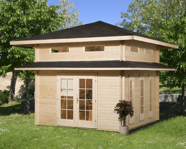 Ferienhaus WEKA u00abWeekendhaus 157u00bb Weekend-Gartenhaus Holz ...